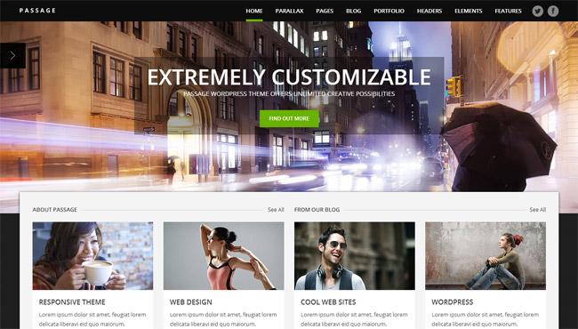 Passage WordPress Theme