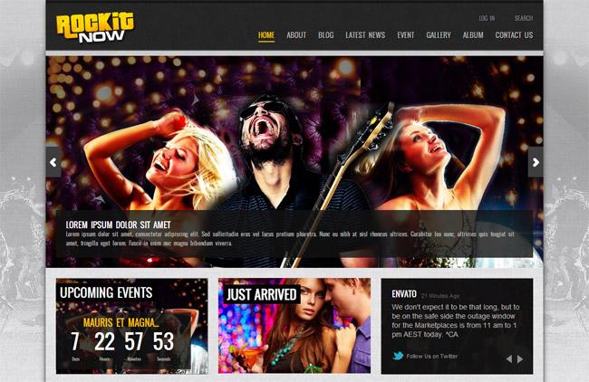 Rockit Now WordPress Theme
