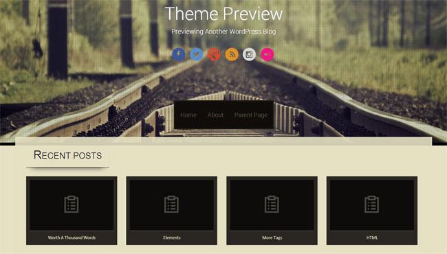 Sixteen WordPress Theme