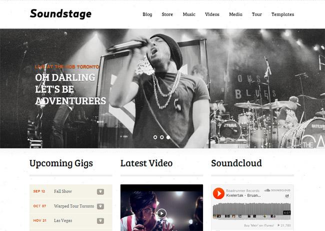 Soundstage WordPress Theme