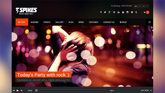 Spikes WordPress Theme