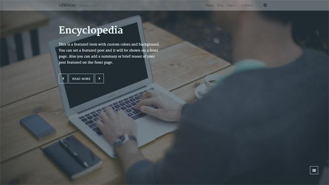 tdWriter WordPress Theme
