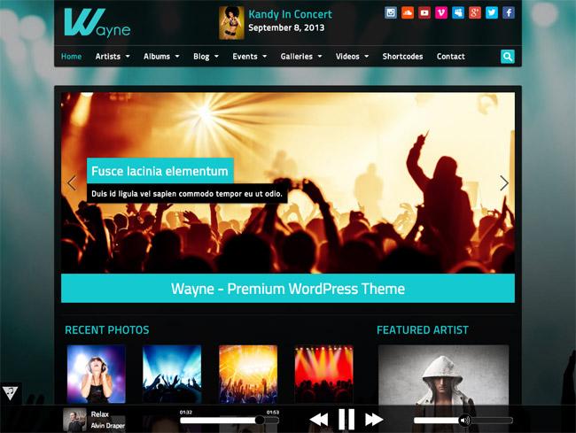 Wayne WordPress Theme