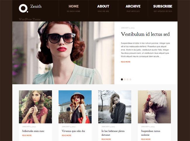 Zenith WordPress Theme