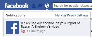 Facebook Revised Their Decision