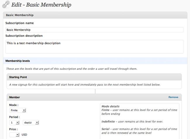 Membership by WPMU DEV