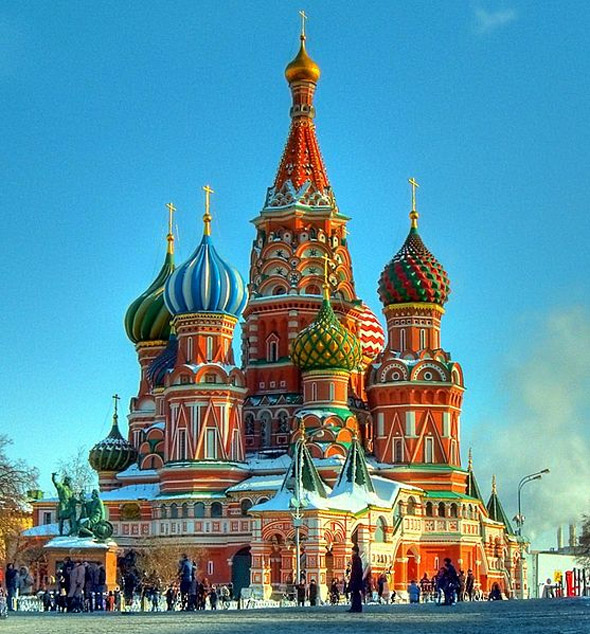 St. Basils Cathedral- Moscow, Russia