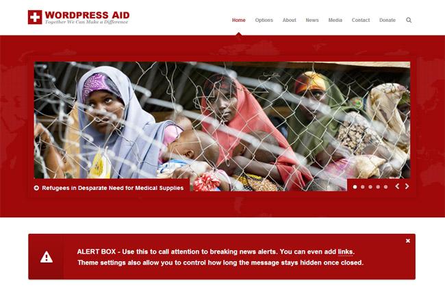 Aid WordPress Theme
