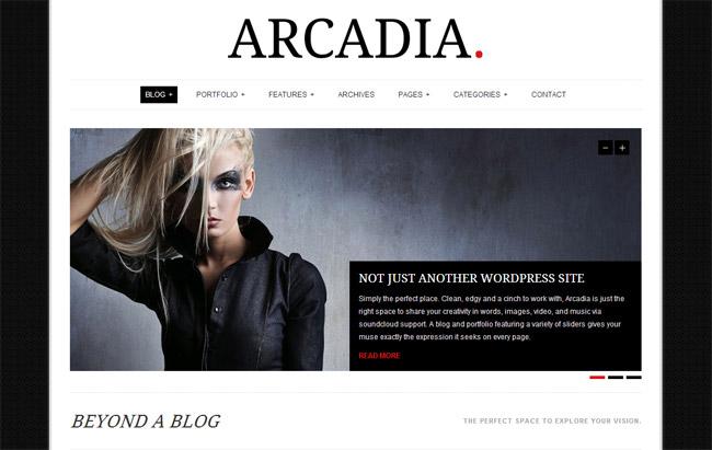 Arcadia WordPress Theme
