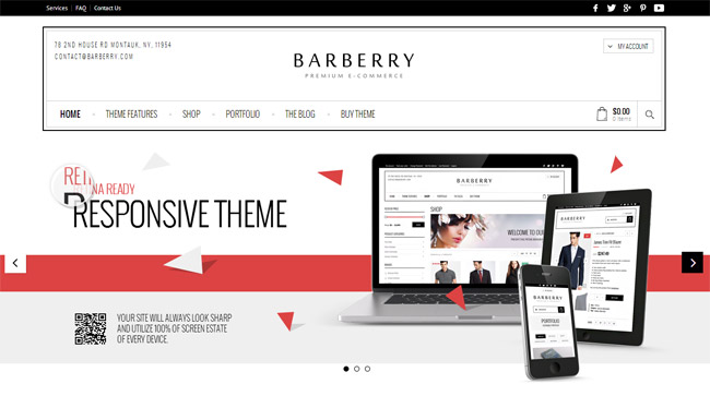 Barberry WordPress Theme
