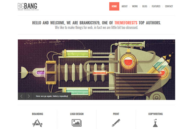 Bigbang WordPress Theme