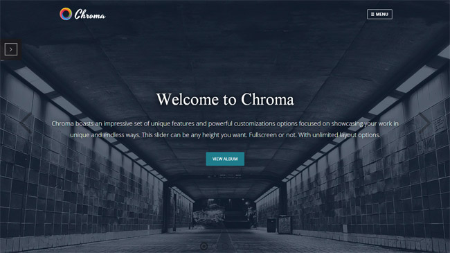 Chroma WordPress Theme