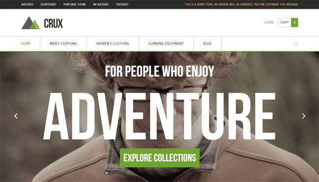 Crux WordPress Theme