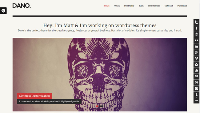 Dano WordPress Theme
