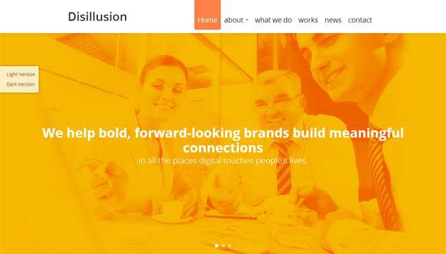 Disillusion WordPress Theme