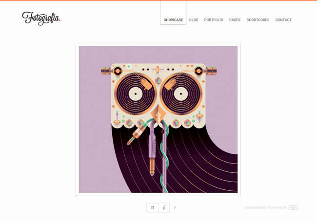 Fotografia WordPress Theme