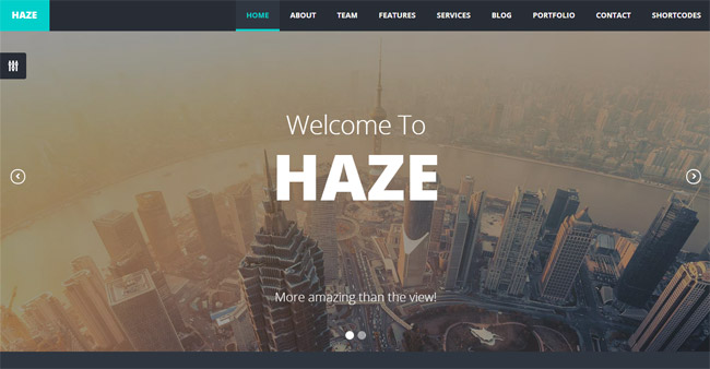 Haze WordPress Theme