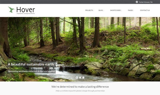 Hover WordPress Theme