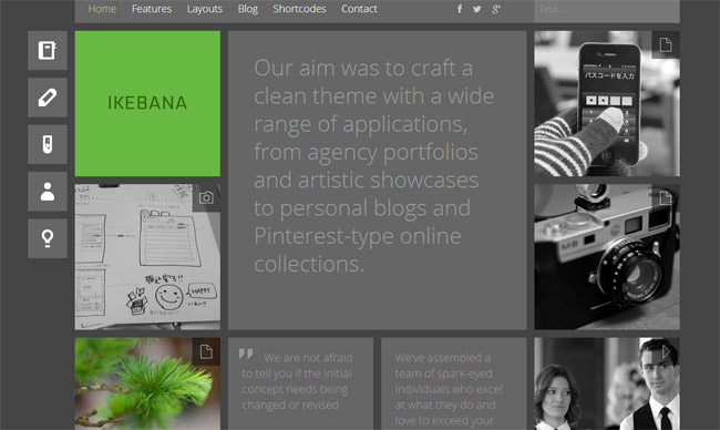 Ikebana WordPress Theme
