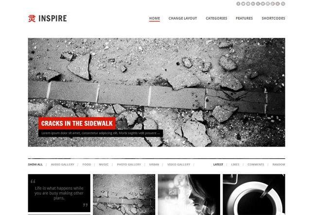 Inspire WordPress Theme