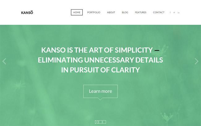 Kanso WordPress Theme