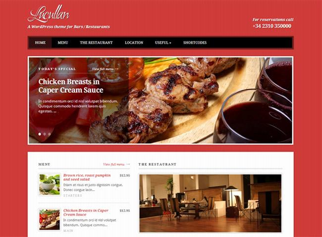 Lucullan WordPress Theme