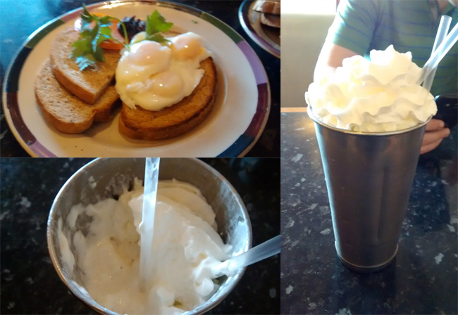 A Hearty Post Marathon Breakfast