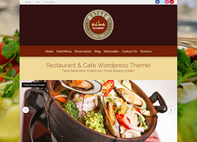 Mataam WordPress Theme