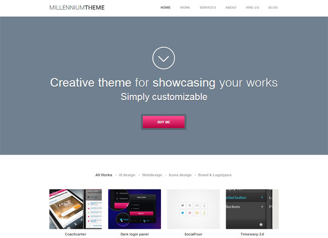 Millennium WordPress Theme