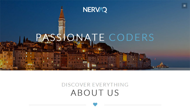 Nervaq WordPress Theme