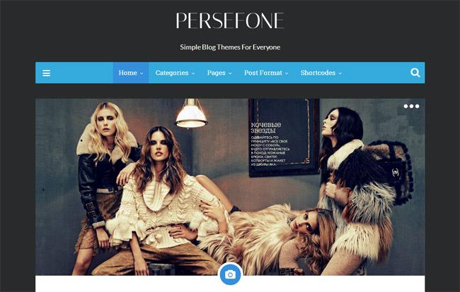 Persefone WordPress Theme