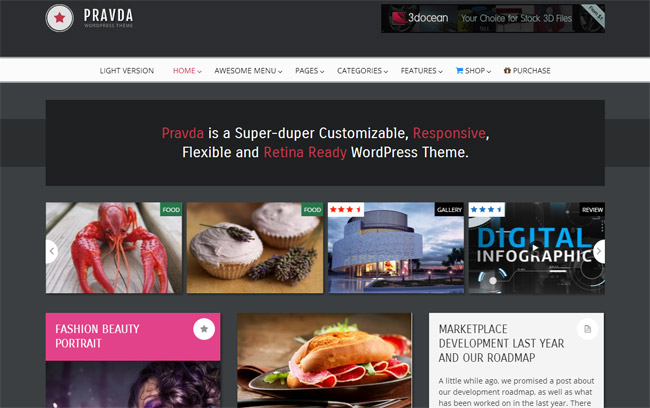 Pravda WordPress Theme