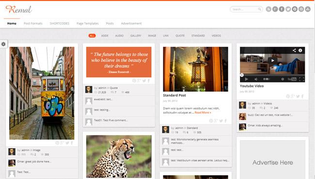 Remal WordPress Theme
