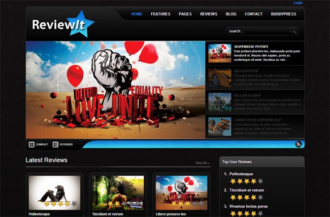 ReviewIt WordPress Theme