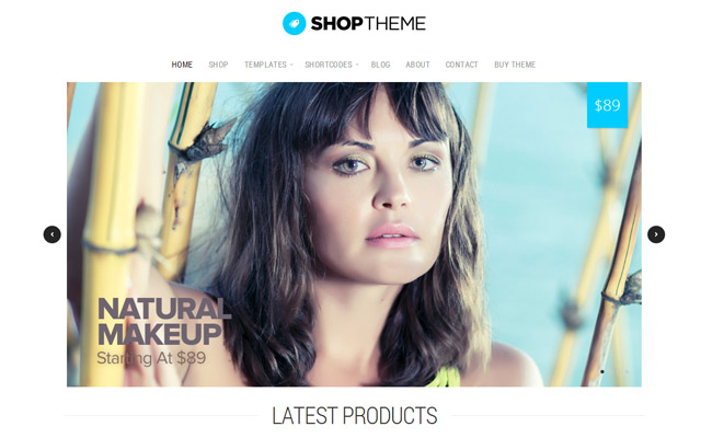 Shop Theme WordPress Theme