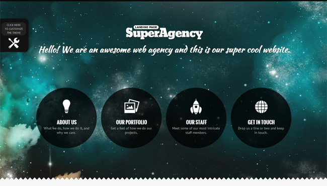 Super Agency WordPress Theme