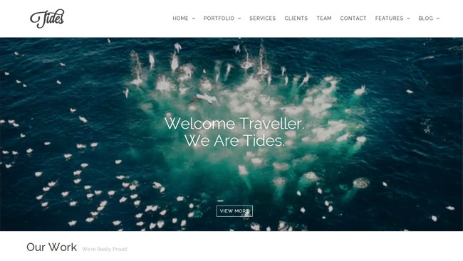 Tides WordPress Theme