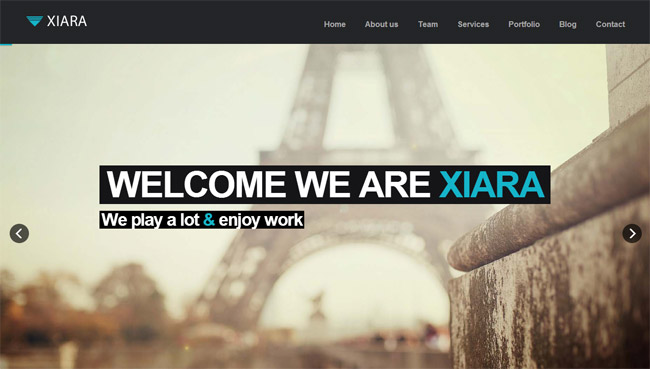 Xiara WordPress Theme