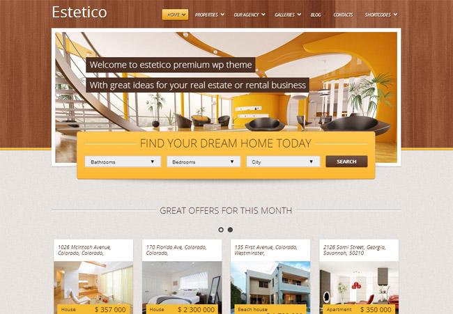 Estetico WordPress Theme
