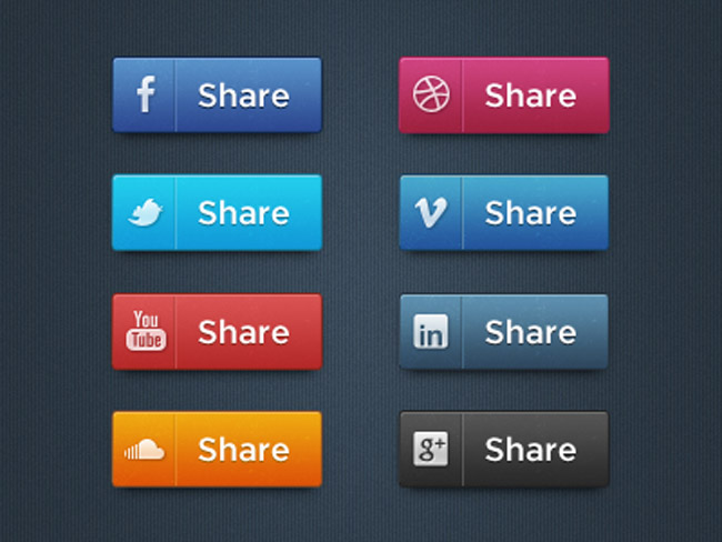 Free socialmedia icon set