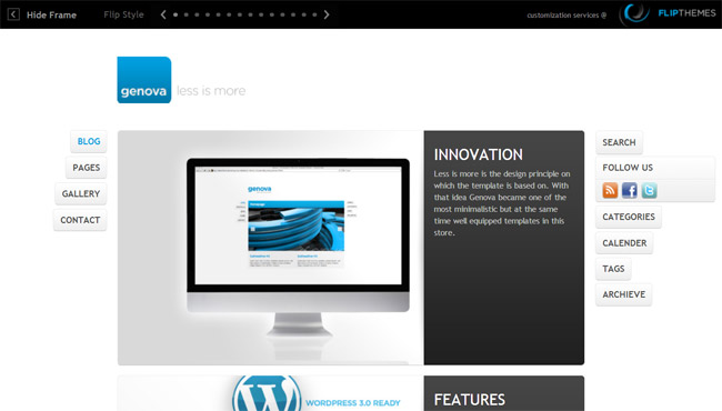 Genova WordPress Theme