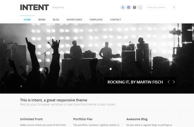 Intent WordPress Theme