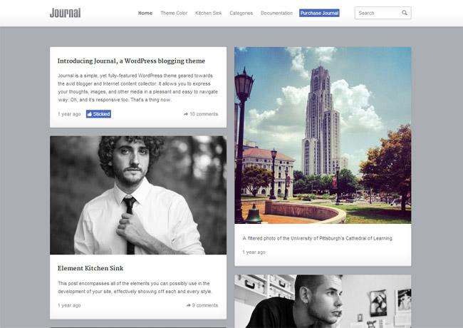 Journal WordPress Theme