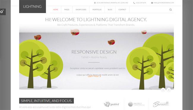 Lightning WordPress Theme