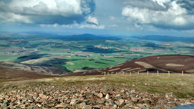 Near the Top of Tinto Hill