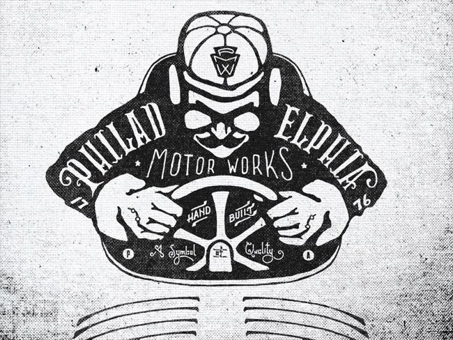 Philadelphia Motor Works Logo