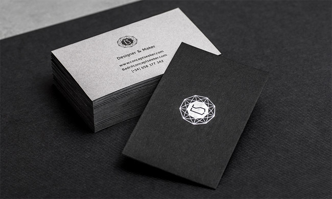 Self promotion Business Card