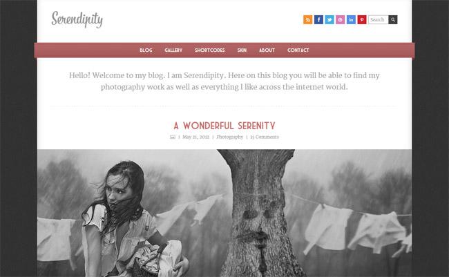 Serendipity WordPress Theme