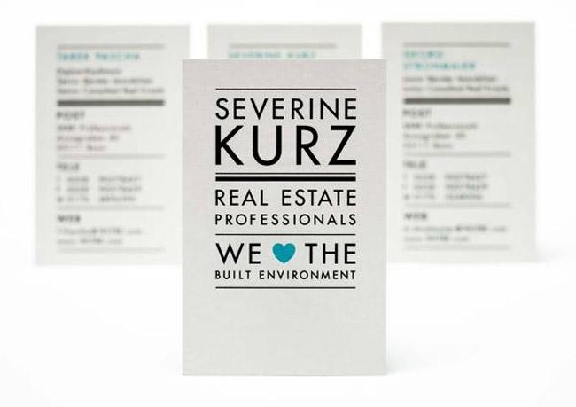 Severine Business Card