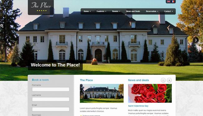 The Place WordPress Theme